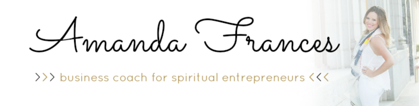 amanda frances | business mentor + money queen + spiritual bosslady