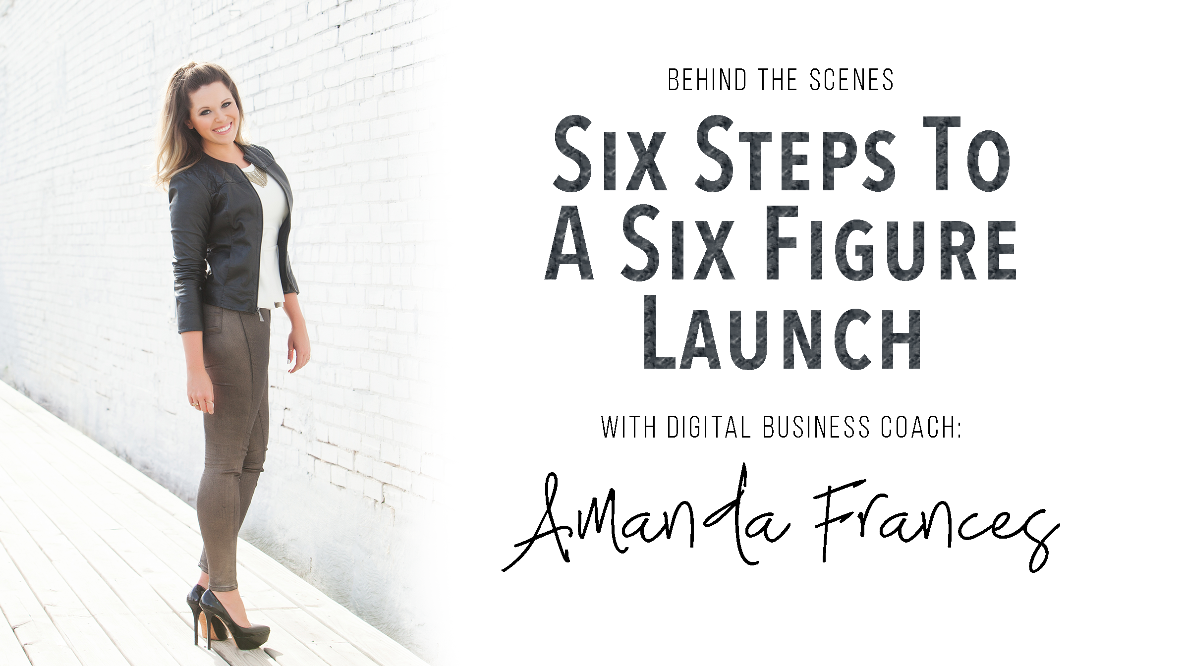 six figure launch