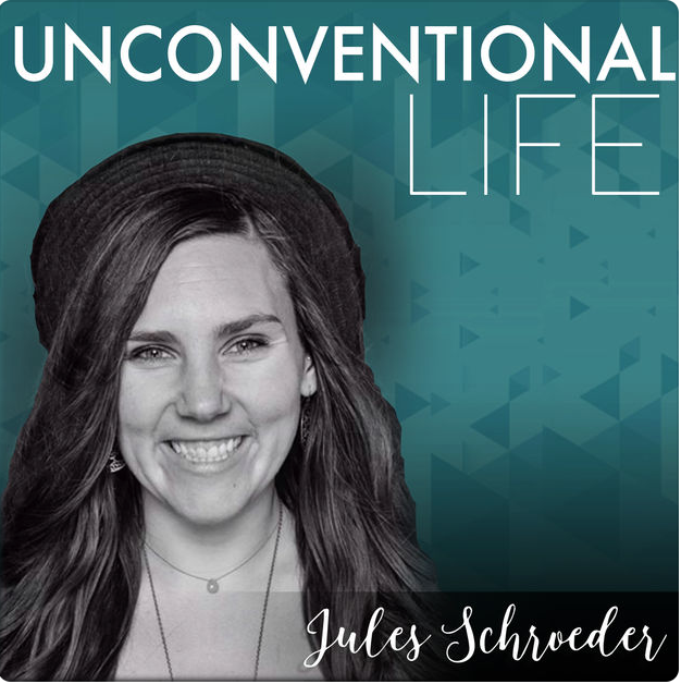 amanda frances on the unconventional life podcast
