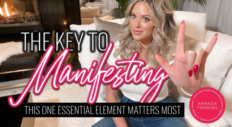 manifest more money the key to manifesting amanda frances