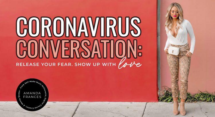 no more fear mongering corona virus
